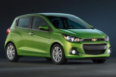 Cận cảnh chiếc xe ô tô Chevrolet Spark Van giá chỉ dưới 260 triệu