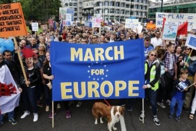 Hàng ngàn người biểu tình chống Brexit ở Anh