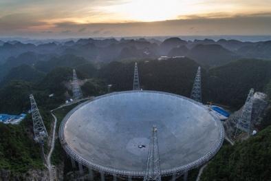 Trung Quốc vừa hoàn thành siêu kính viễn vọng lớn nhất thế giới
