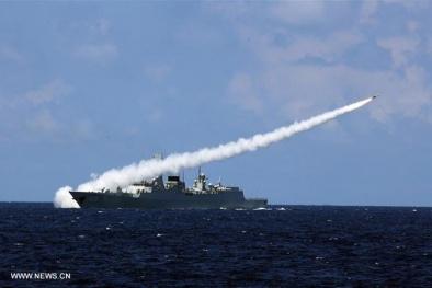 Trung Quốc trắng trợn mang tên lửa diệt hạm tới 'khuấy sóng' Biển Đông