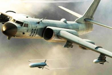 Trung Quốc tung máy bay ném bom tầm xa H-6K 'lượn lờ' trái phép ở Biển Đông