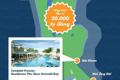 {Infographic} Phía Nam đảo Phú Quốc: Sức bật sau một năm