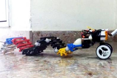 Robot 3D đầu tiên trên thế giới có khả năng chuyển động hình sóng
