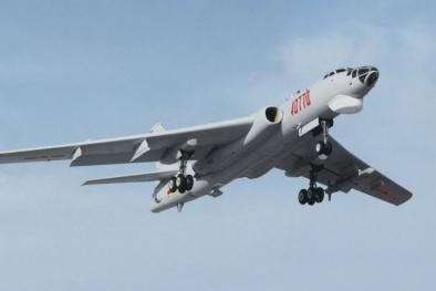 Trung Quốc lại trắng trợn đưa oanh tạc cơ H-6K tới tuần tiễu ở Biển Đông