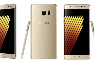 Vừa mới ra mắt, Galaxy Note 7 đã khan hàng