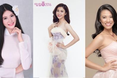 Vẻ đẹp 'ngọt lịm' của 5 mỹ nhân miền Tây lọt chung kết Hoa hậu Việt Nam 2016