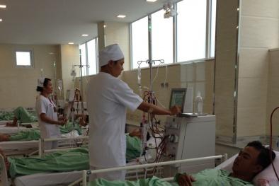 Bệnh nhân bệnh thận mạn có cơ hội lọc máu theo chuẩn Nhật Bản