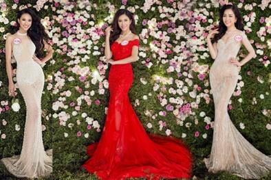 Loạt váy áo lộng lẫy trong bộ ảnh dạ hội chính thức của Hoa hậu Việt Nam 2016