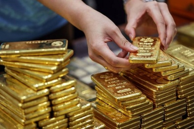 Giá vàng hôm nay 20/8/2016 lập đáy 2 tuần sau tín hiệu của Fed