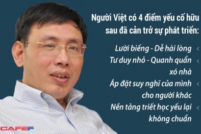 Phó Tổng giám đốc FPT phân tích vì sao người Việt mãi nghèo