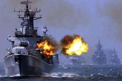 Trung Quốc- Nga xác định ngày tập trận chung trên Biển Đông