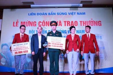 Đại tá Hoàng Xuân Vinh được thưởng gần 5 tỉ đồng