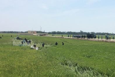 Video cận cảnh hiện trường máy bay rơi ở Phú Yên