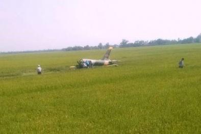 Vụ máy bay quân sự rơi ở Phú Yên: Hé lộ nguyên nhân ban đầu
