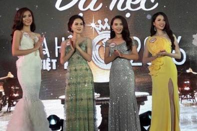 Ngắm 30 người đẹp Hoa hậu Việt Nam chuẩn bị trước đêm chung kết