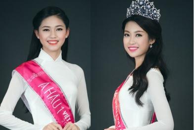 Cân nhan sắc của Tân Hoa hậu Đỗ Mỹ Linh và Á hậu 1 Ngô Thanh Thanh Tú