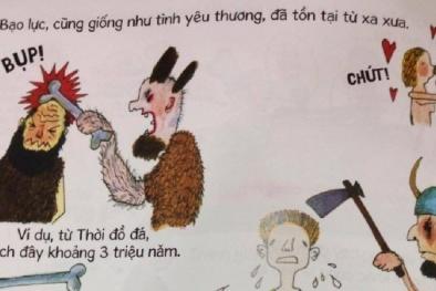 Sách cho trẻ em của NXB Kim Đồng mang hình ảnh bạo lực, nhạy cảm