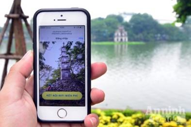Phố đi bộ Hồ Gươm: Wifi miễn phí ở đâu khỏe nhất