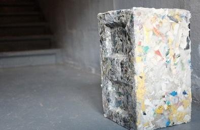 Biến nhựa rác thải thành gạch để xây nhà
