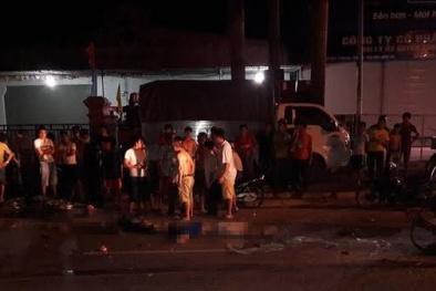 Nghệ An: Không mũ bảo hiểm, 3 thanh niên tử vong khi đâm vào xe khách