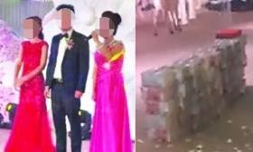 Nhà trai gây sốc khi mang 20 tỷ tiền mặt lên sân khấu tặng cô dâu
