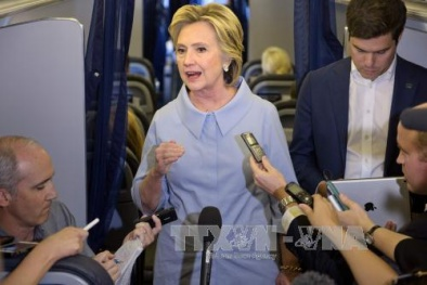 Bà Hillary Clinton coi việc diệt thủ lĩnh IS là ưu tiên hàng đầu