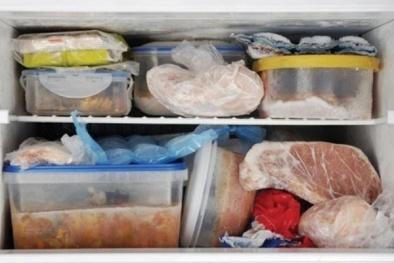 Rước cả ổ vi khuẩn khi bảo quản thực phẩm đông lạnh sai cách