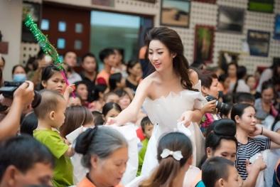 Hoa hậu Mỹ Linh: Tôi nghĩ công chúng đã quá nặng lời với chiếc váy trắng