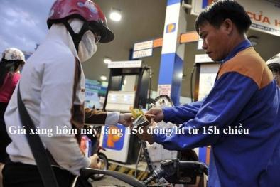 Giá xăng hôm nay tăng 156 đồng/lít, giá các loại dầu đồng loạt giảm