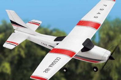 Chơi máy bay điều khiển: Bỏ tiền triệu mua rủi ro