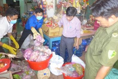 Bình Phước: Tiêu hủy gần 2.000 kg thịt thối