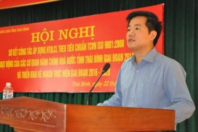 Thái Bình: Áp dụng thành công ISO 9001:2008 vào 41 cơ quan hành chính
