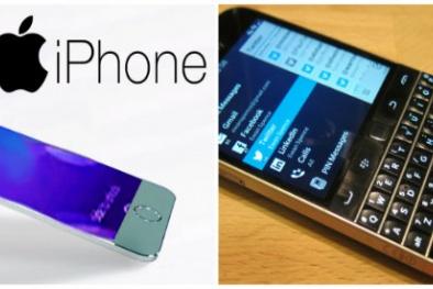 Bản tin tiêu dùng 29/9: BlackBerry khai tử, Iphone 8 được bí mật thiết kế tại Israel