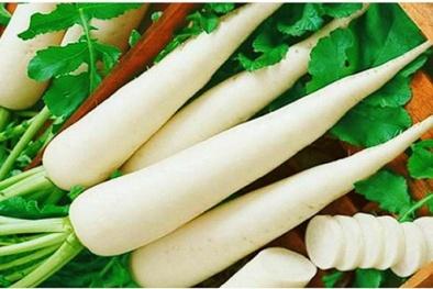 10 công dụng tuyệt vời từ củ cải mà bạn chưa biết