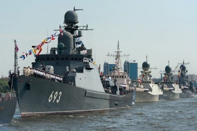 Tàu chiến Nga tàng hình nhờ công nghệ gây nhiễu quang học