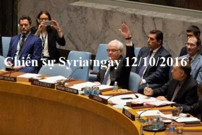 Chiến sự Syria mới nhất hôm nay ngày 12/10: Nga tìm cách hạn chế ảnh hưởng của Mỹ ở Syria