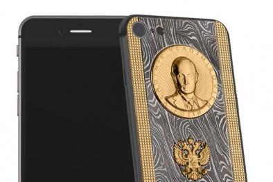 Điện thoại iPhone 7 'phiên bản' Tổng thống nga Putin giá hơn 80 triệu đồng