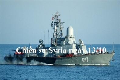 Chiến sự Syria mới nhất hôm nay ngày 13/10: Nga nâng cấp căn cứ hải quân tại Syria
