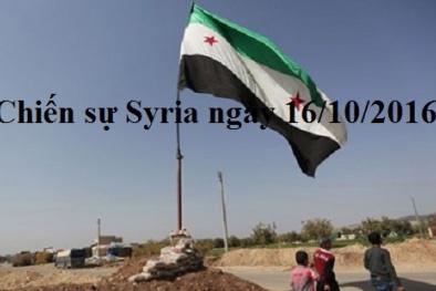 Chiến sự Syria mới nhất ngày 16/10: Nga bác tin sáu binh sĩ thiệt mạng ở Syria