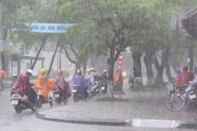 Bão số 7 thay đổi hướng đi, phía Đông Bắc Bộ dự báo có mưa to gió lớn