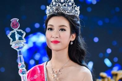 Hoa hậu Đỗ Mỹ Linh trả lời thế nào khi bị hỏi về số tiền ủng hộ miền Trung?