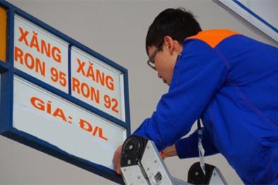 Giá xăng tăng lần thứ 5 liên tiếp từ 16h45 chiều nay