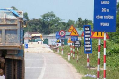 Quy chuẩn kỹ thuật quốc gia về báo hiệu đường bộ mới lái xe lưu ý