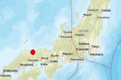 Động đất rất mạnh rung chuyển phía tây Nhật Bản