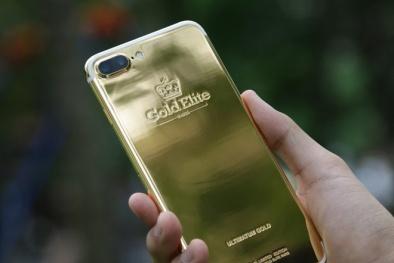 Cận cảnh những chiếc iPhone mạ vàng đã xuất hiện tại Việt Nam
