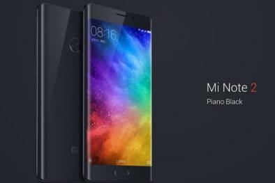 Bản sao của Galaxy Note 7, điện thoại Xiaomi Note 2 chính thức trình làng