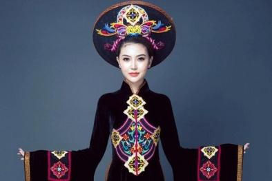 Ngắm cận cảnh quốc phục dự thi của Ngọc Duyên tại Miss Global Beauty Queen