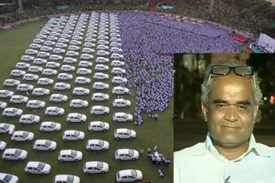 Ông chủ tặng nhân viên hơn 1000 xe hơi, 400 căn hộ giàu có cỡ nào?