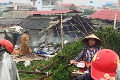 Nổ bình gas kinh hoàng ở Thái Bình ít nhất 3 người tử vong