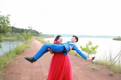 Ngắm trọn bộ ảnh cưới của chàng gầy, nàng béo làm 'điên đảo' cư dân mạng